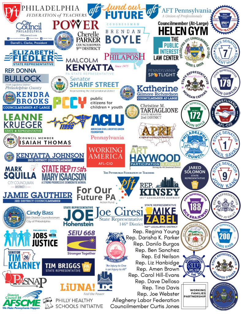 Collage of coalition partner logos - partners listed below in text