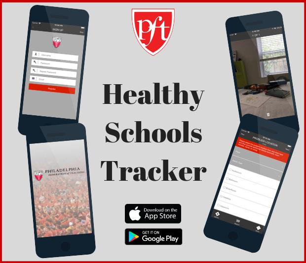 Healthy Schools Tracker app
