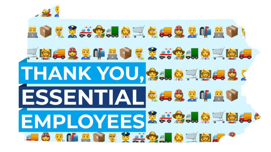 Thank You Essential Employees