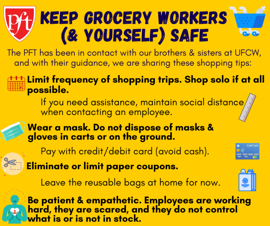 Keep Grocery Workers (and Yourself) Safe
